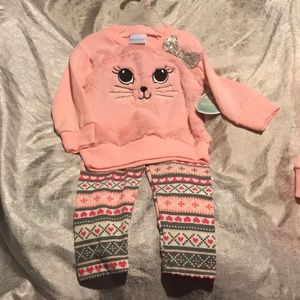 NEW Minky soft matching outfit 2pc